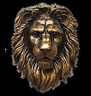 Барельеф голова льва