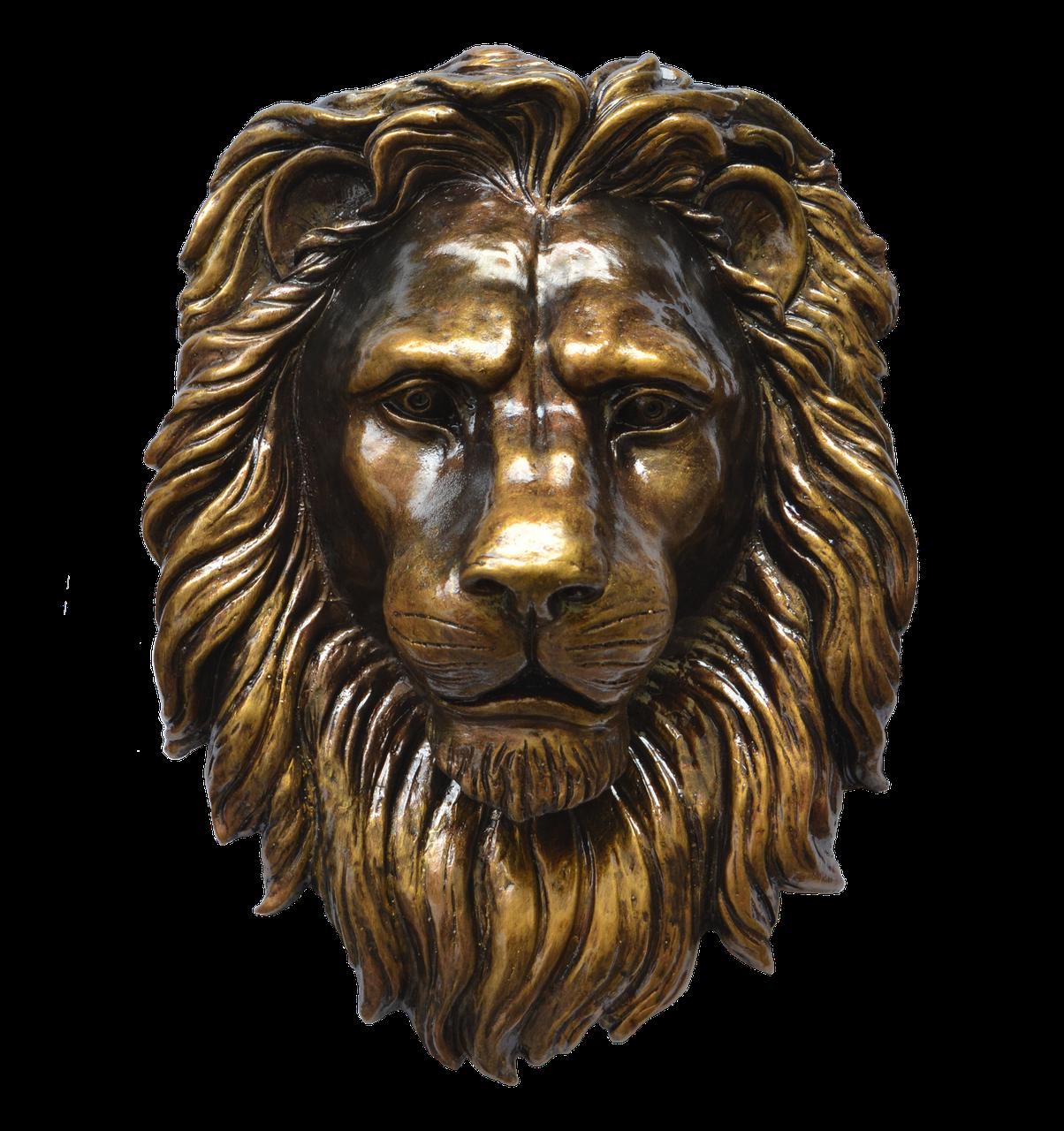 Барельеф голова льва, фото 1