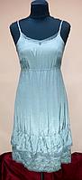 Сарафан, серый, вискоза,  на 42-44 размеры