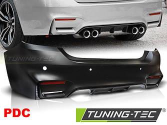 Задний бампер тюнинг обвес BMW F32 F33 стиль M4