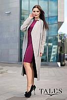 Длинное шерстяное пальто Selesta