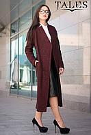Длинное шерстяное пальто Selesta, фото 1