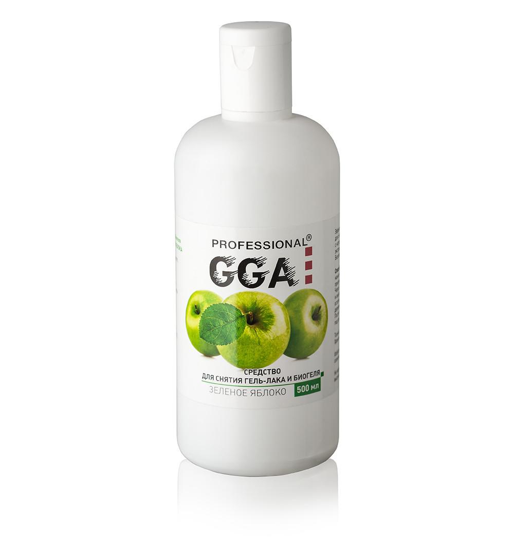 Жидкость для снятия гель-лака и биогеля 500 мл, GGA