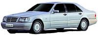 Лобовое стекло Mersedes W140, S CLASS 280-600 (LHD),Мерседес 1991-1998AGC