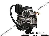 Карбюратор на скутер 4т GY6/QMB/QMI 50/65/80100cc (QT-50/QT-26/QT-6A) Mototech