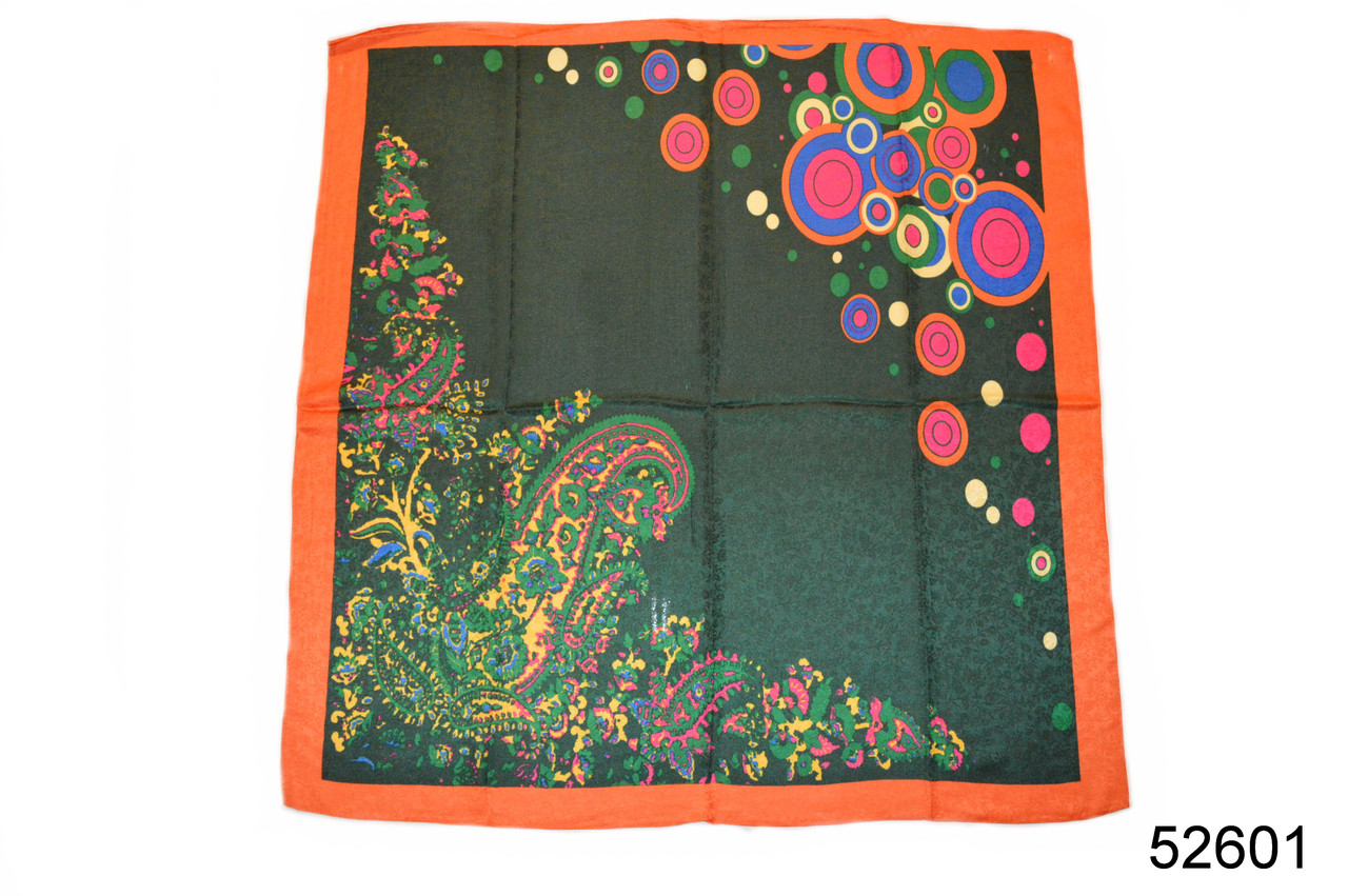 Женский зеленый турецкий платок