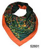 Женский зеленый турецкий платок, фото 2