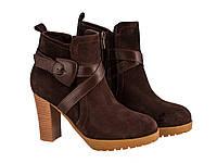 Ботинки на каблуке Etor