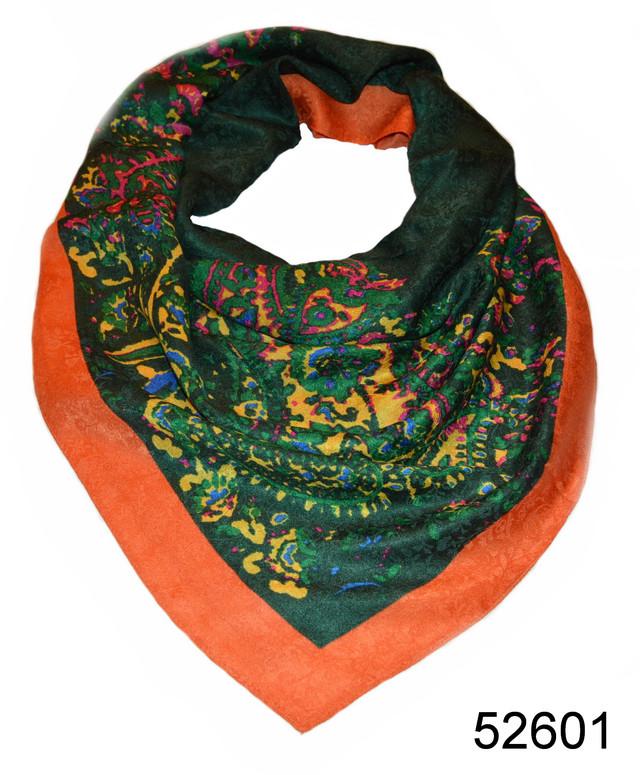Турецкий женский платок зеленый 2