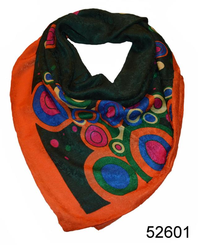 Турецкий женский платок зеленый 3