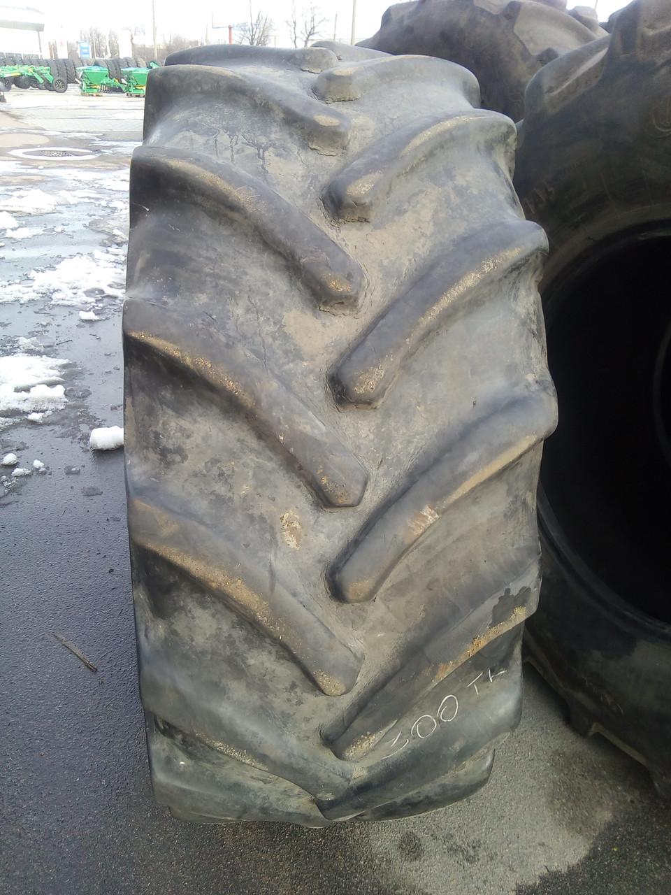 Шины б/у 600/70R30 GoodYear для тракторов JOHN DEERE, CASE IH