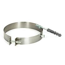 Хомут настінний ø360 мм (50-100 мм) з нержавіючої сталі для кріплення труби димоходу димохідний Версія-Люкс, фото 3