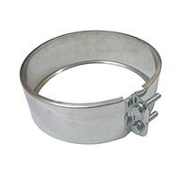 Хомут обжимной 260 мм из нержавеющей стали для сэндвич-трубы дымохода «Версия Люкс»