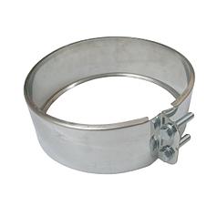 Хомут обжимной 200 мм из нержавеющей стали для сэндвич-трубы дымохода «Версия Люкс»