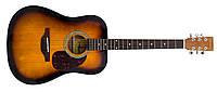 Акустическая гитара MAXTONE WGC408N SB