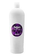 Шампунь для окрашенных волос Kallos argan colour 1000 мл