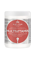 Маска для волос Kallos multivitamin с экстрактом женьшеня и маслом авокадо 1000 мл