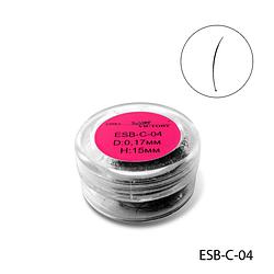 Ресницы в банке используемые для поресничного наращивания, ESB-C-04