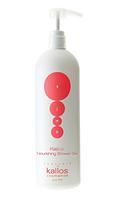 Питальний гель-крем для душа Kallos Nourishing Shower GEL с ароматом аргана 1000 мл