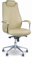 Кресло для руководителя Соната (Sonata) steel chrome Новый Стиль LE-A