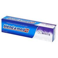 Отбеливающая зубная паста Blend-a-med 3D WHITE