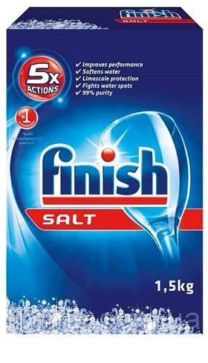 Сіль для посудомийних машин Finish Salt 1,5 кг