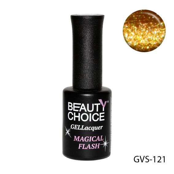Гель лак з мерехтінням Beauty Choice, 10 мл, GVS-121