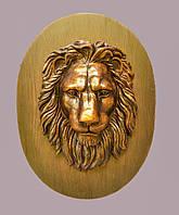 Настенный декор - большая голова льва, фото 1