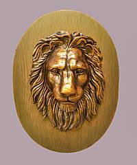 Настенный декор - большая голова льва