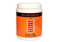 Крем-маска для волос с экстрактом моркови и маслом из льняного семени Serical Carota 1000 мл