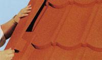 Покрівельні матеріали: композитна черепиця «Metrotile»