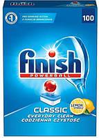 Таблетки Finish Classic Lemon 100 шт для посудомоечных машин