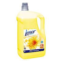 Ополаскиватель-кондиционер для стирки Lenor весеннее пробуждение 5 л (жовтий)