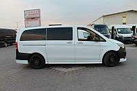 Mercedes Vito W447 2014+ гг. Боковые пороги (под покраску)