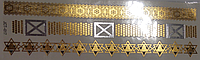 Флэш тату, (Metallic Flash Tattoo), 19см*6см, Харьков