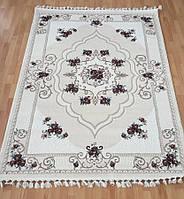 Красивый турецкий коврик с цветочным принтом 3316