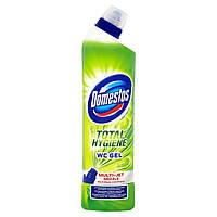 Гель для мытья унитаза Domestos TOTAL HYGIENE WC GEL Lime fresh 700 мл