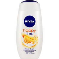 Женский гель для душа Nivea Care & orange 250 мл