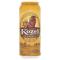 Пиво Kozel ж / б 0,5 ml Alk 4,0% oб