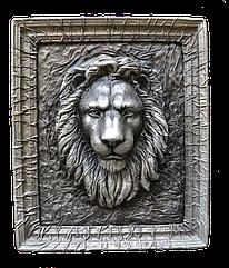 Изделие из кожи - голова льва