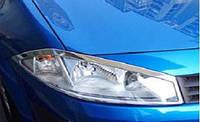 Накладки на фары Renault Megane 2