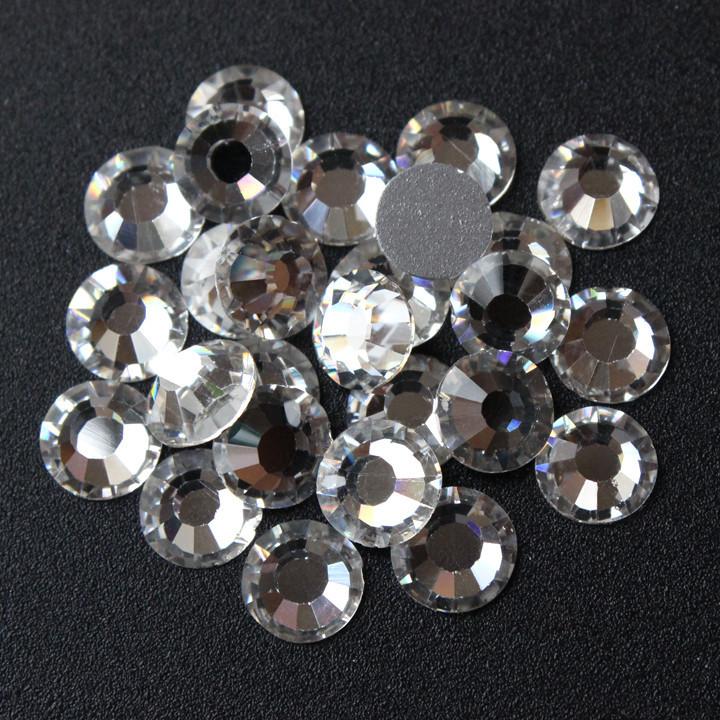 Стразы  Серебро №3 1440 шт, 1.2мм