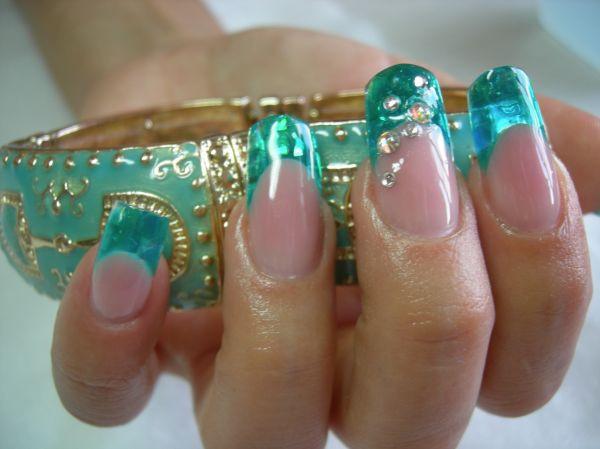 """Фольга """"Битое стекло"""" для ногтей, 25см*5 см ОРИГИНАЛ № 10"""