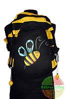 Эрго-рюкзак Очаровательная Пчелка (принт)