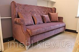 Кухонный диванчик с ящиком (Розовый)