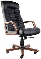 Кресло компьютерное с деревянными подлокотниками Атлант (Atlant) extra Tilt Новый Стиль LE-A