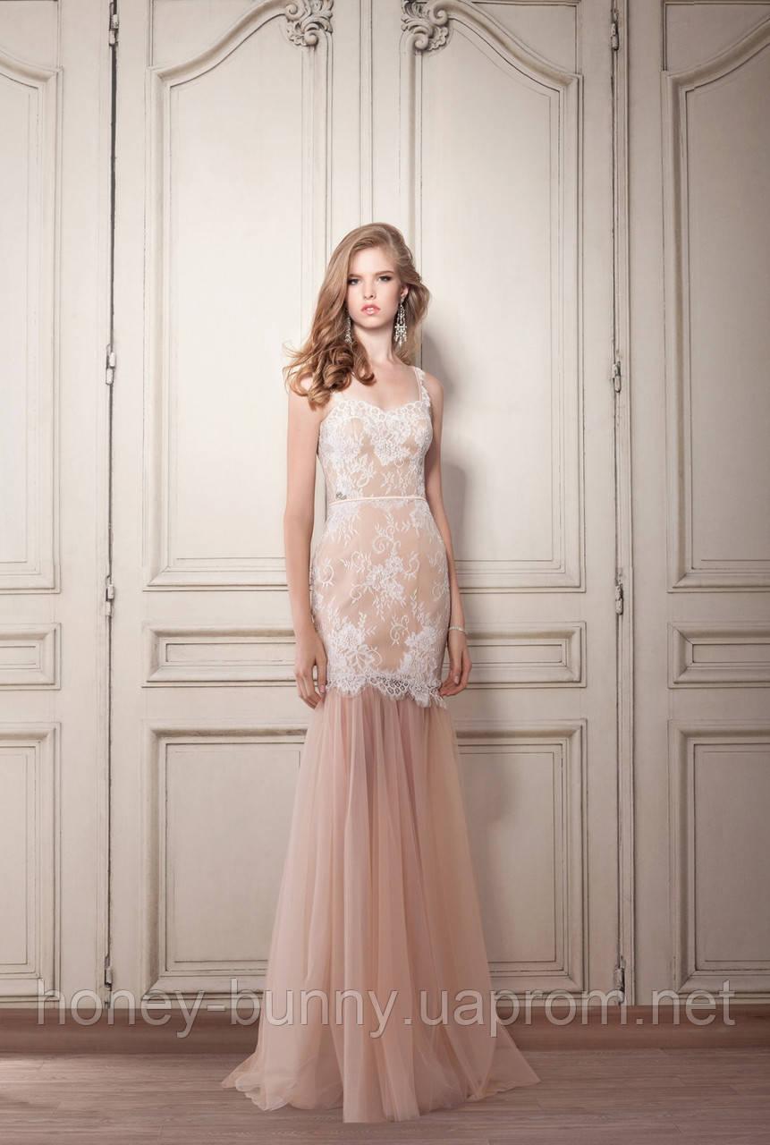 """Свадебное платье трансформер """"Прозрачный намек"""" Прокат 4320грн."""
