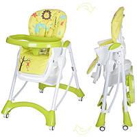 Детский стульчик для кормления Bambi (M 3235-2) САЛАТОВЫЙ