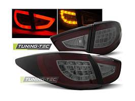 Задние фонари Hyundai IX35  -2010 год тюнингованные