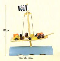 Гигантская игра Stormy Seas бамбуковая (высота 155 см)